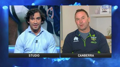 NRL: Johnathan Thurston reveals emotional chat with Ricky Stuart that shaped his career