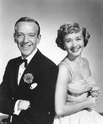 Fred Astaire and Jane Powell in a publicity shot for Royal Wedding in 1951.