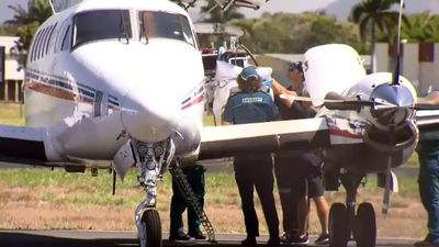Drum lines installed as Whitsundays shark attack victim flown to hospital