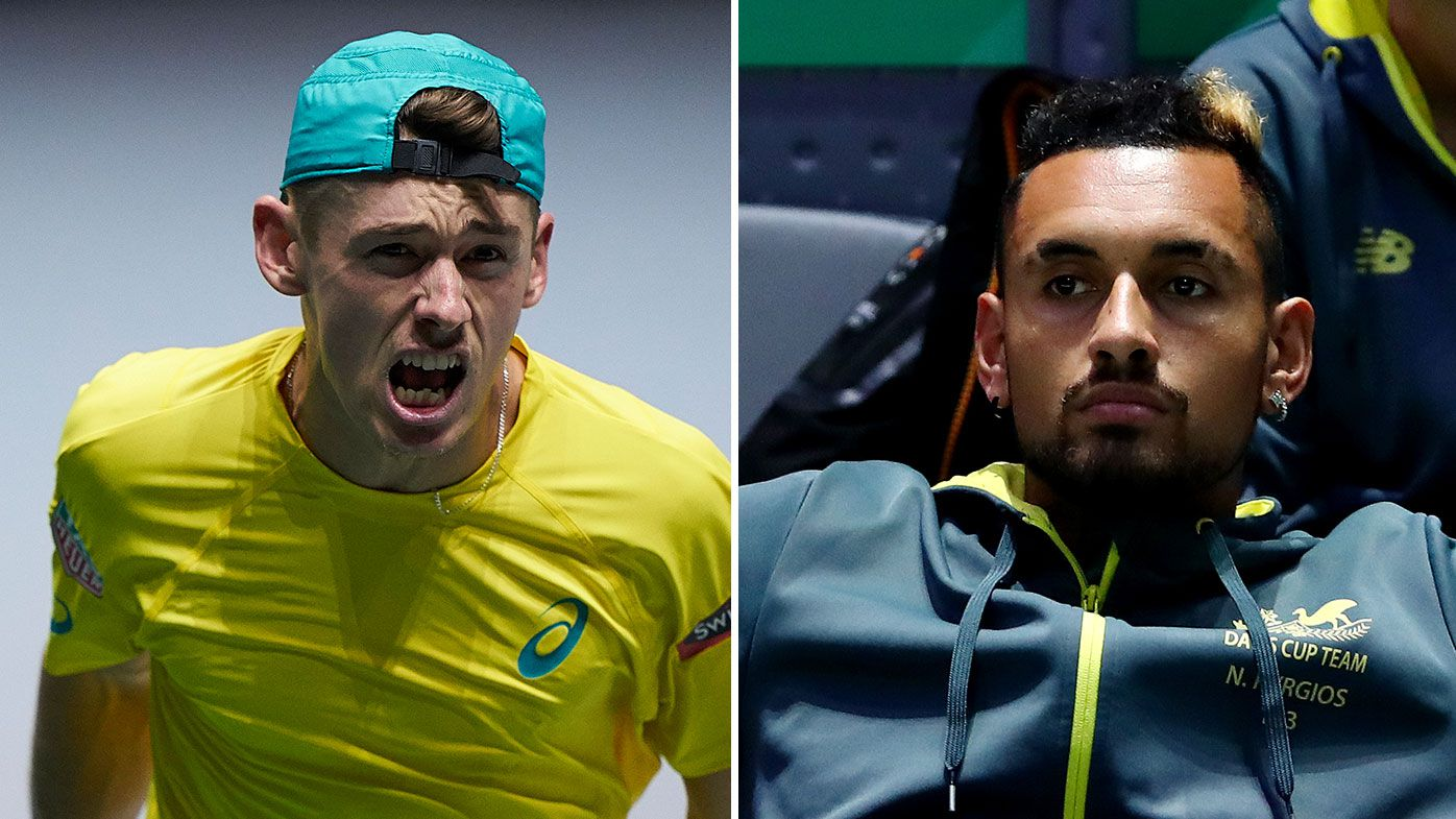 Nick Kyrgios and Alex de Minaur ruled out of Australia's Davis Cup tie against Brazil