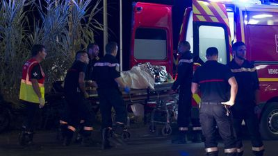 "<p>A large truck has ploughed into a crowd celebrating Bastille Day in France on July 14, in the French Riviera city of Nice, in a terror attack which killed at least 77 people.<br> <br> Witnesses described scenes of terror and chaos on the beachfront Promenade des Anglais as the driver ran down the crowd before he was shot dead by police.</p> <p>Nice Mayor Christian Estrosi, has called the attacks ""the worst catastrophe our region has seen"". (AAP)</p> <p> </p>"
