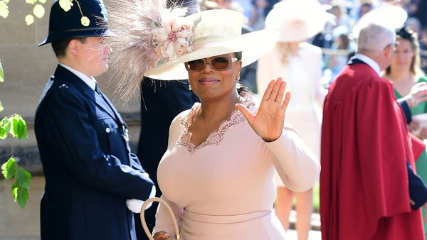 Oprah Winfrey at Royal Wedding