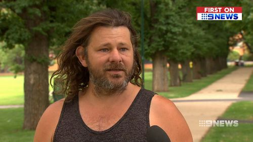 The tradie's father spoke exclusively to 9News about his son's ordeal.