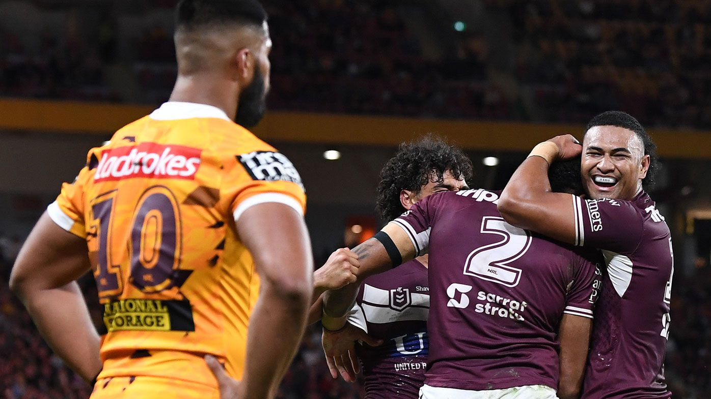 The Broncos were blown out by the Sea Eagles.
