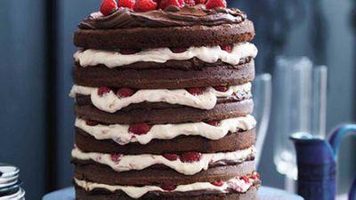 "Recipe:&nbsp;<a href=""http://kitchen.nine.com.au/2016/05/05/15/57/chocolate-raspberry-layer-cake"" target=""_top"" draggable=""false"">Chocolate raspberry layer cake</a>"