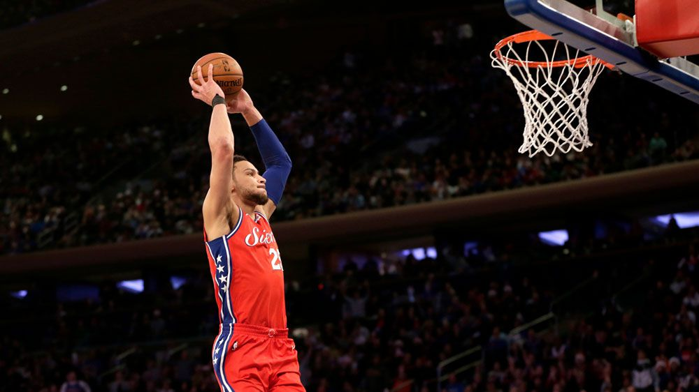 Ben Simmons quiet as 76ers snap NBA losing run