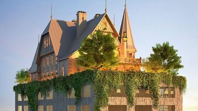 Philippe Starck designs bizarre hotel