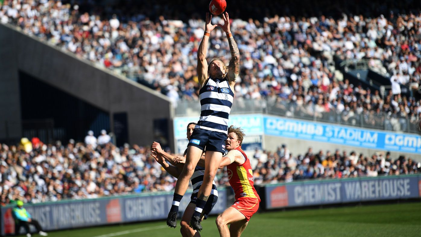 AFL: Geelong Cats smash Gold Coast Suns by 102 points
