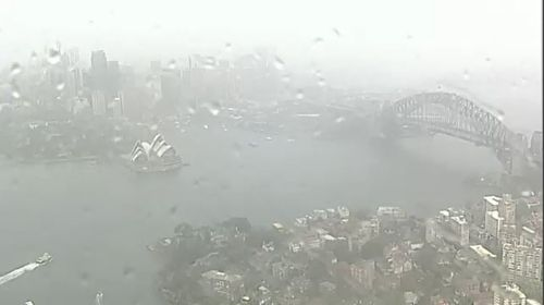 The worst of the weather system has now passed over most of NSW after causing a drenching.
