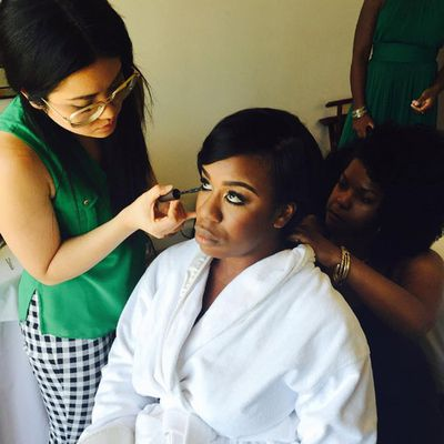 Her co-star Uzo Aduba is also ready for her close-up...