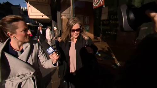 Hope Martyn is also awaiting sentencing. (9NEWS)
