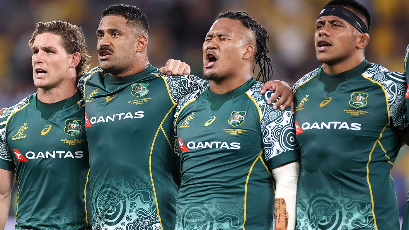 'Spine-tingling' Indigenous anthem steals the show before Wallabies, Pumas clash