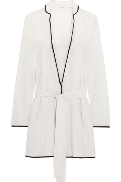 "<a href=""https://www.net-a-porter.com/au/en/product/637608/Equipment/elya-cashmere-robe"" target=""_blank"">Cashmere robe, $768, Equipment from net-a-porter.com</a>"