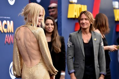 The back of Nicole Kidman's Michael Kors gown