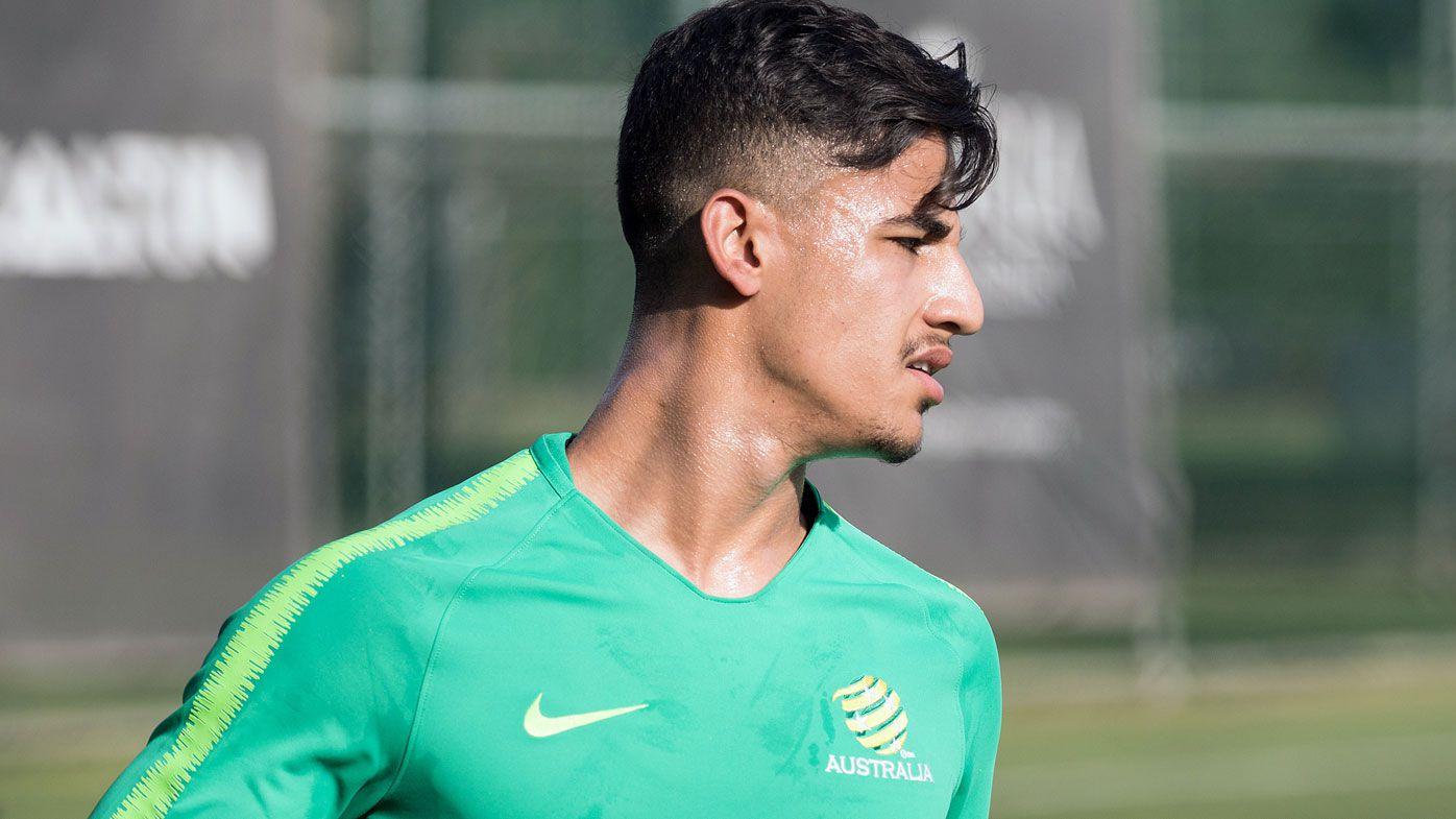 Socceroos' young gun Daniel Arzani claims he's confident, not cocky