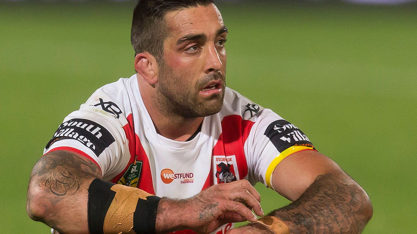 St George Illawarra Dragons' Paul Vaughan hopeful of earlier than expected return from injury