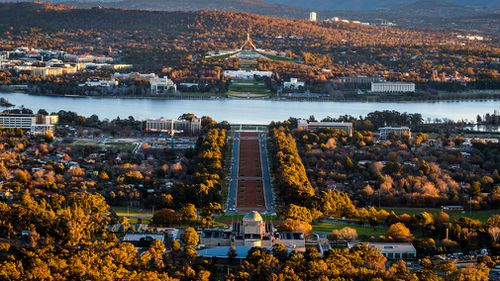 The mercury will also soar in Canberra up to a maximum of 31. Picture: Getty.