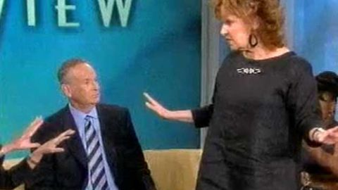 Video: why did Whoopi and Joy Behar storm off The View?