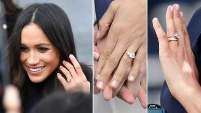 The Duchess of Sussex's diamond trilogy ring