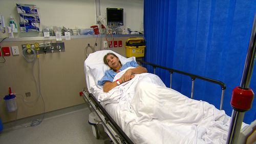 Martina Marsh had tried everything to relieve her back pain, including eight operations, before getting the Intellis device fitted. (9NEWS)
