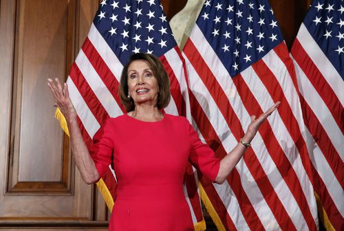 Nancy Pelosi has been elected Speaker of the US House of Representatives.