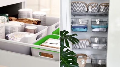 Baskets are the ultimate storage solution for the whole home