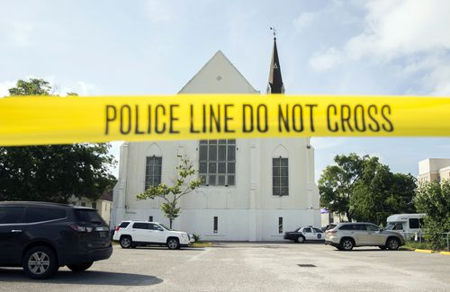 He fired on churchgoers more than 75 times inside Emanuel African Methodist Episcopal Church. (AAP)