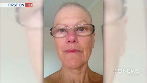 Breast cancer survivor Alison Mew experienced hair loss and painful side effects while undergoing treatment. (9NEWS)