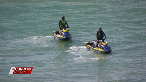 A water search is also being conducted. (9NEWs)