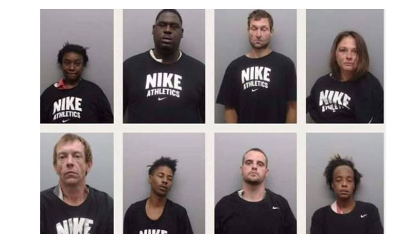 US police dress inmates in Nike shirts, deny it's related to NFL protester