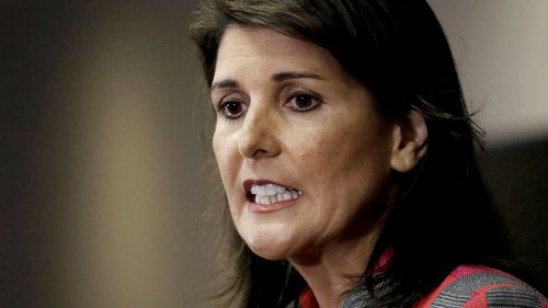 Nikki Haley was appointed the US Ambassador to the UN in 2016.