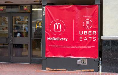McDonald's McDelivery via UberEats