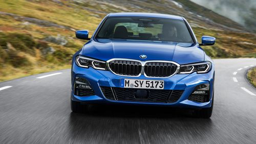 The resemblance to the 5 Series is clear, with a modern twist to the classic grille.