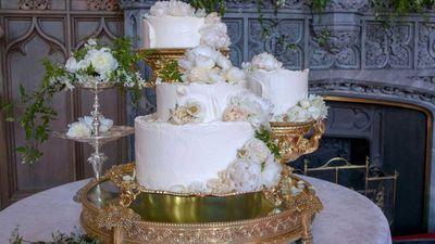 Prince Harry and Meghan Markle's lemon and elderflower cake
