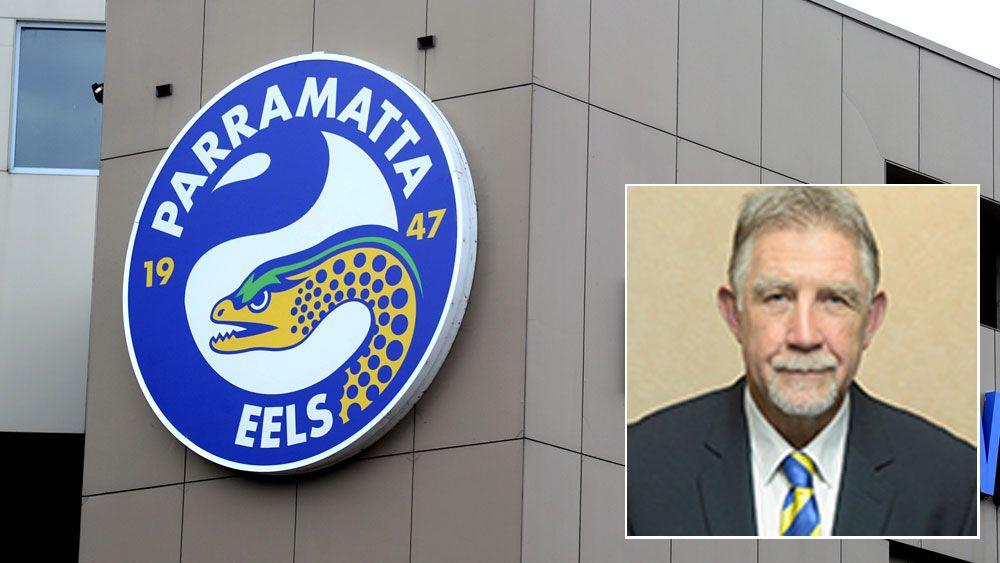 Parramatta board director Geoff Gerard (AAP)