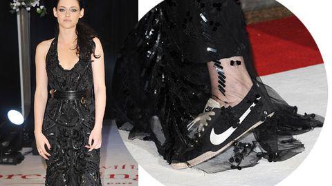 Kristen Stewart wears sneakers on the red carpet
