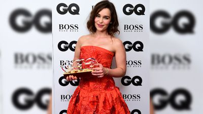 <p>She also received the Woman of the Year Award in the 2015 GQ Men of the Year Awards in September.</p><p>(AAP)</p>