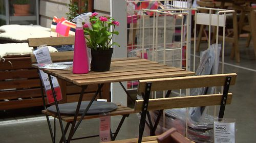 Swedish retailer will offer Ikea vouchers for returned furniture. Picture: 9News