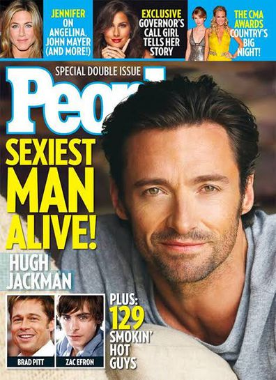 Hugh Jackman, People magazine, Sexiest Man Alive, cover