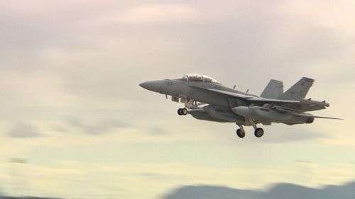 Exercise Red Flag is the first time the RAAF pilots have been put to the test in their recently-acquired Growlers. (9NEWS)