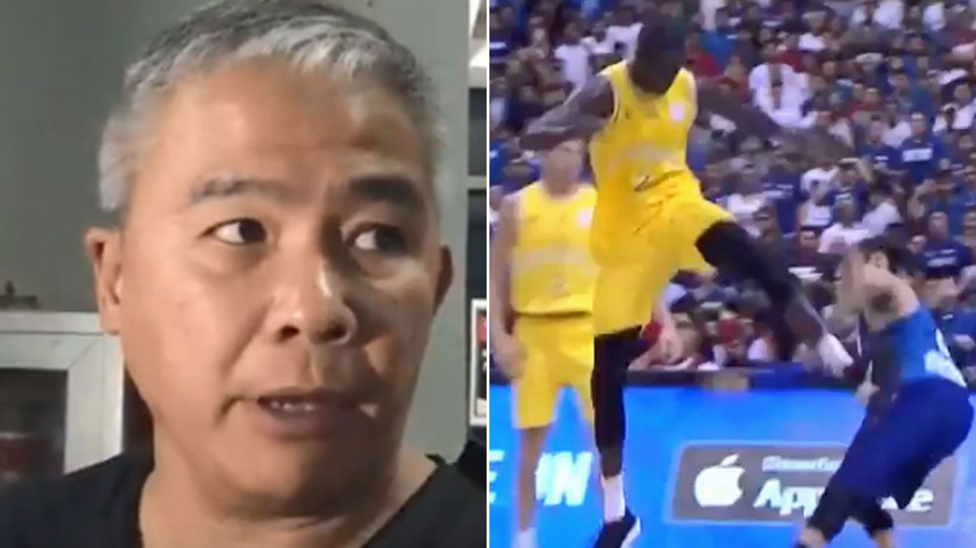 Philippines coach Chot Reyes blames Boomers for brawl during FIBA World Cup qualifier