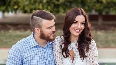 Jodie and Joss dog wedding photo
