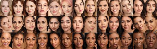 There are 40 shades available in Maybelline's Fit Me foundation range - Woolworths and Coles will stock all of them in an online trial.