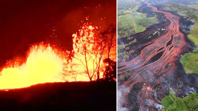 Warning issued over hazardous 'lava haze' spewing 'deadly' toxin