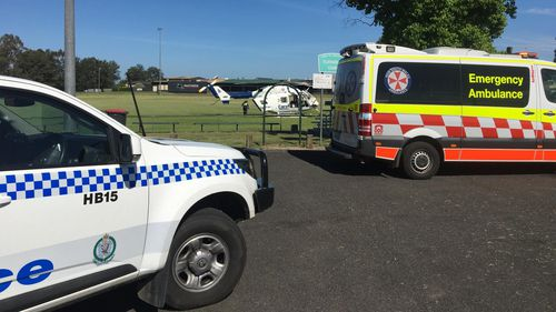 Young boy critical after fracturing skull in Kurrajong playground accident
