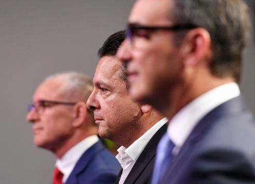 The leaders of the major parties have made jobs a key SA election battleground. (AAP)