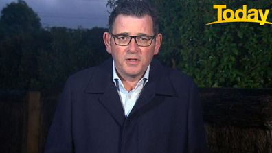 Daniel Andrews on Today