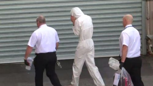 The Holden's driver, Zak Anderton, has since been charged. (9NEWS)