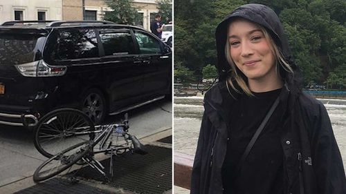 Madison Lyden was struck and killed while riding in New York.