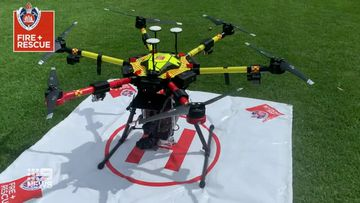New drones will be deployed to live-stream thermal imaging to incident command.